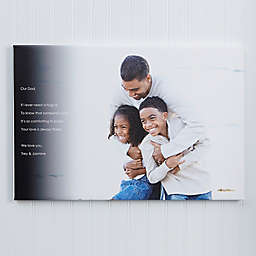 Personalized Photo Sentiments For Him Canvas