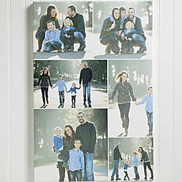 Personalized 6 Photo Collage Canvas