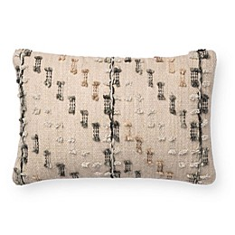 Magnolia Home Percy Oblong Throw Pillow in Grey
