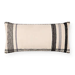 Magnolia Home by Joanna Gaines Sutton Oblong Throw Pillow in Ivory/Black