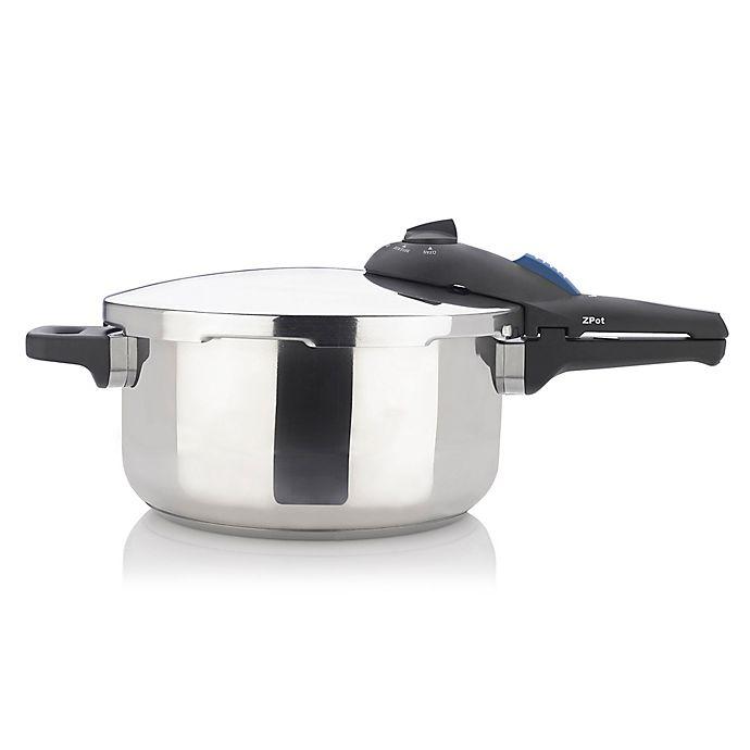 Alternate image 1 for Zavor ZPot 4.2 qt. Stainless Steel Pressure Cooker