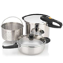 Zavor Duo 5-Piece Combi Pressure Cooker Set