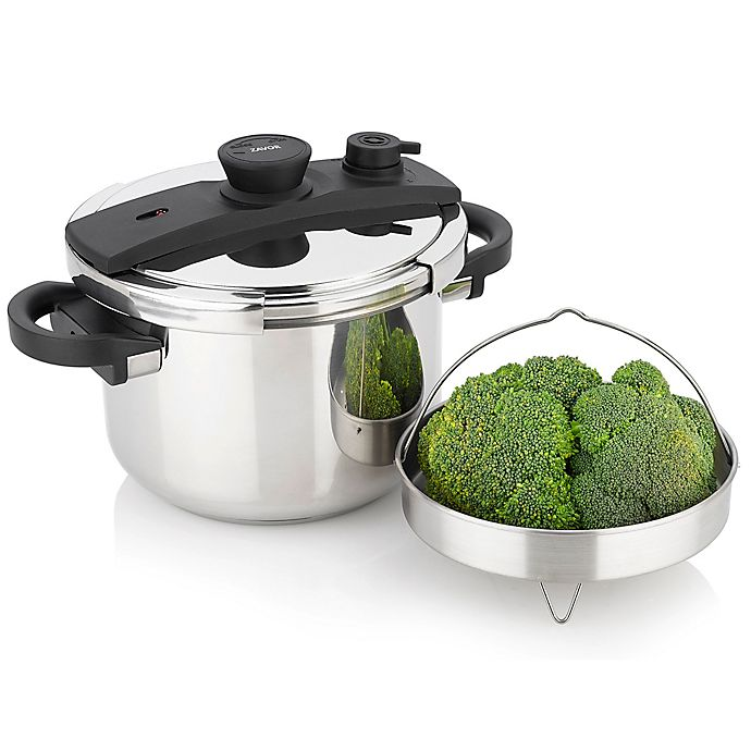 Alternate image 1 for Zavor EZLock Stainless Steel Pressure Cooker