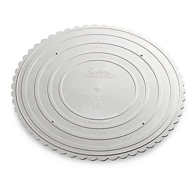 18-Inch Round Garden Cake Stand Plate