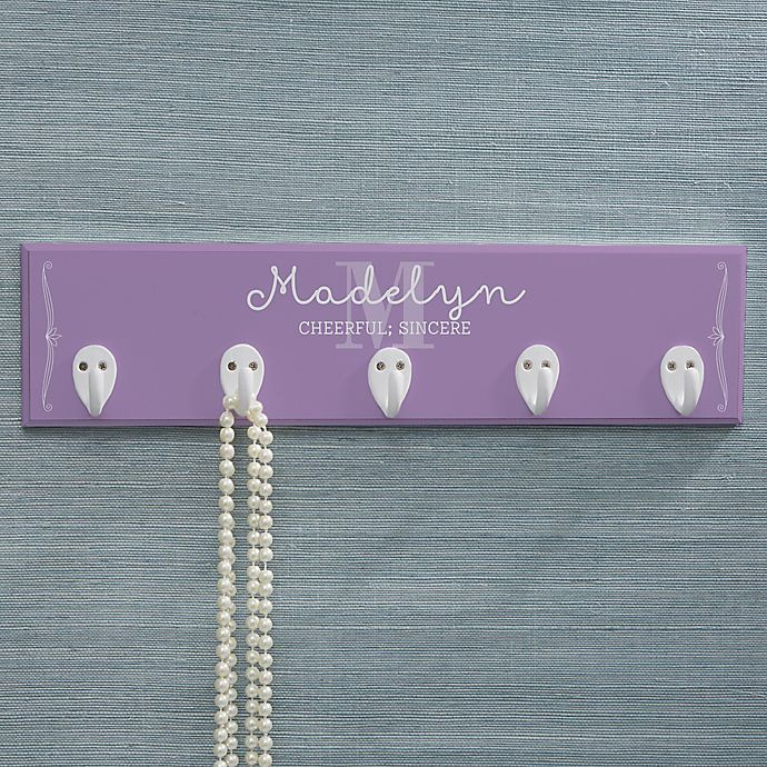 Alternate image 1 for Personalized My Name Means... Necklace Holder