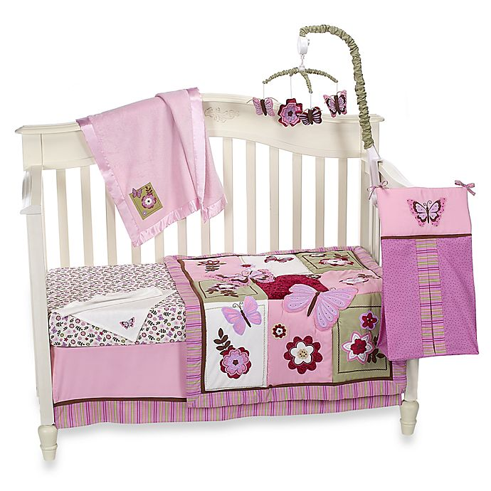 Emilie Bedroom Collection: NoJo® Emily Crib Bedding Collection