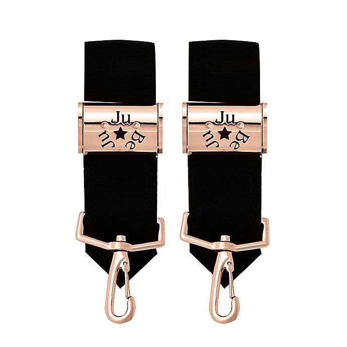 Alternate image 1 for Ju-Ju-Be® Be Connected Stroller Clips in Rose Gold (Set of 2)