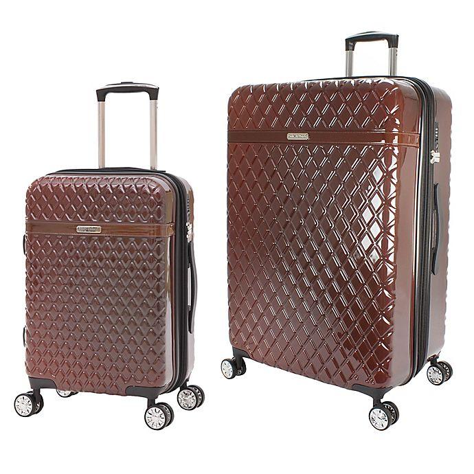 Alternate image 1 for Kathy Ireland® Yasmine Hardside Spinner Luggage Collection