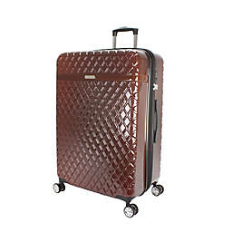 Kathy Ireland® Yasmine 29-Inch Hardside Spinner Checked Luggage