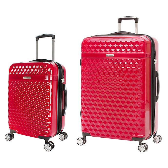 Alternate image 1 for Kathy Ireland® Audrey Hardside Spinner Luggage Collection
