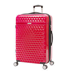 Kathy Ireland® Audrey 29-Inch Hardside Spinner Checked Luggage