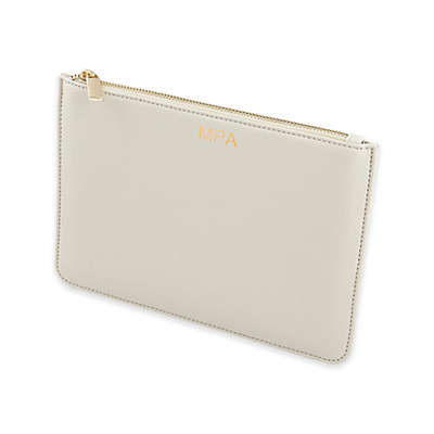 Cathy's Concepts Vegan Leather Initial Clutch