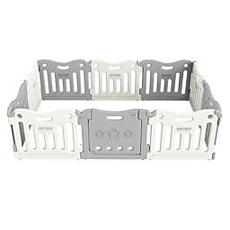 Baby Care Funzone Playpen In Grey