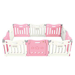 BABY CARE™ Funzone Baby Playpen in Pink