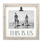 """5-Inch x 7-Inch """"This is Us"""" Clip Frame"""