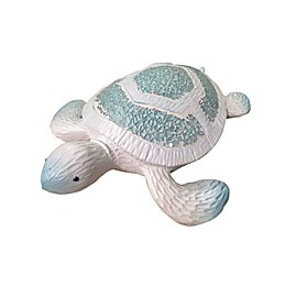 Fancy That Gift Mosaic Sea Turtle in Blue/White