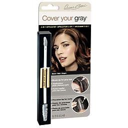 Irene Gari® Cover Your Gray® 2-in-1 Applicator in Black