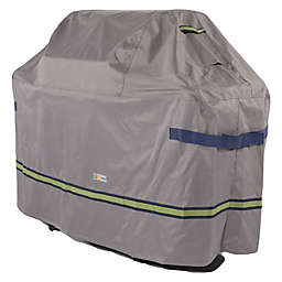 Soteria Polyester Water-Resistant Grill Cover in Grey