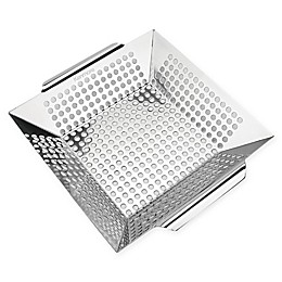 Permasteel Heavy Duty Stainless Steel Grill Basket