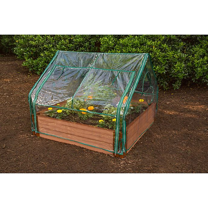 Frame It All Extendable Cold Frame PVC Greenhouse | Bed Bath