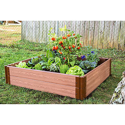Frame It All 4-Foot x 4-Foot Raised Garden Bed