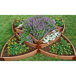 Frame It All Raised Multi-Level Garden Bed Kit in Sienna