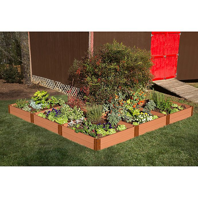Alternate image 1 for Frame It All 12-Foot x 12-Foot Raised Garden Bed in Sienna
