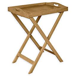 Linon Home Portland Removable Tray Table