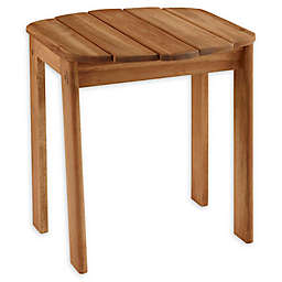 Linon Home Blaise Adirondack Outdoor End Table