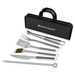 Home-Complete 7-Piece BBQ Grill Tool Set
