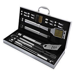 Home-Complete 16-Piece BBQ Grill Tool Set