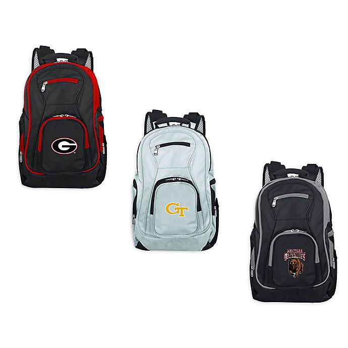 Alternate image 1 for Collegiate Laptop Backpack Collection