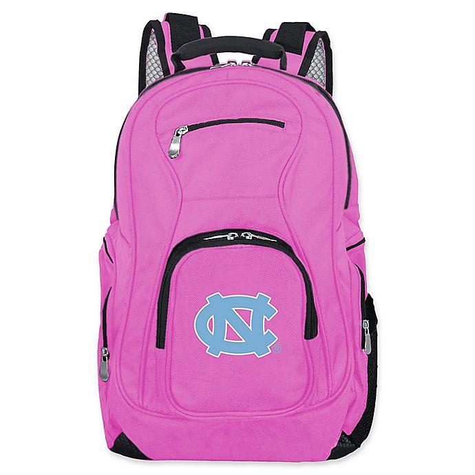 Alternate image 1 for University of North Carolina Laptop Backpack in Pink
