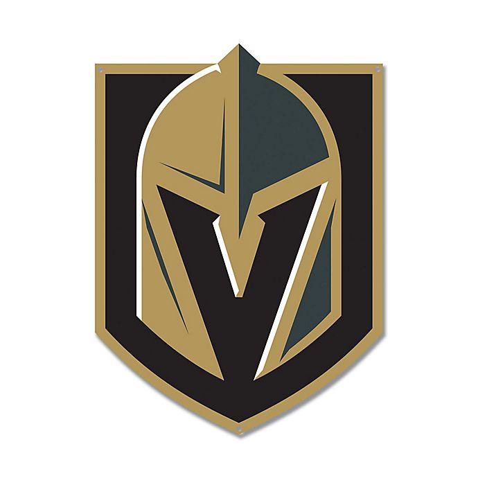 Alternate image 1 for NHL Vegas Golden Knights 12-Inch x 8-Inch Laser Cut Street Sign