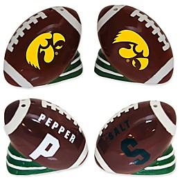 University of Iowa Football Jersey Salt & Pepper Shakers Set