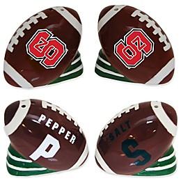 North Carolina State University Football Jersey Salt & Pepper Shakers Set