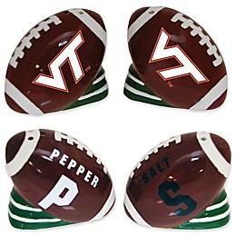 Virginia Tech University Football Jersey Salt & Pepper Shakers Set