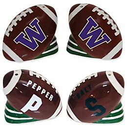University of Washington Football Jersey Salt & Pepper Shakers Set