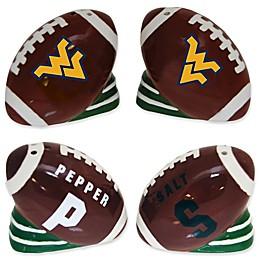 West Virginia University Football Jersey Salt & Pepper Shakers Set