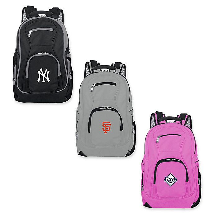 Alternate image 1 for MLB 19-Inch Laptop Backpack Collection