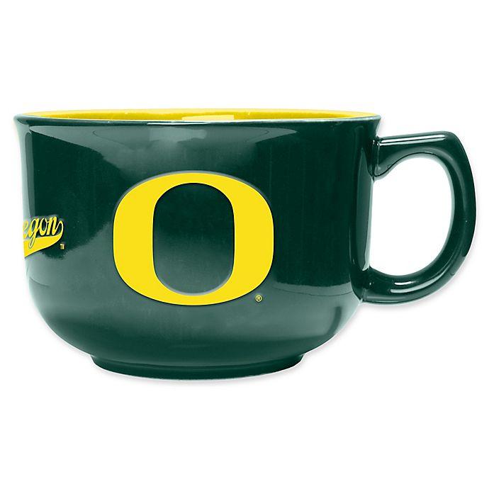 Alternate image 1 for University of Oregon 32 oz. Ceramic Soup Mug
