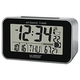 La Crosse Technology Atomic Alarm Clock with Indoor Temperature