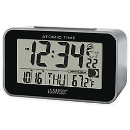 La Crosse Technology Atomic Alarm Clock with Indoor Temperature