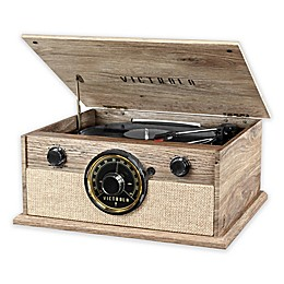Victrola Wooden Music Center with Bluetooth