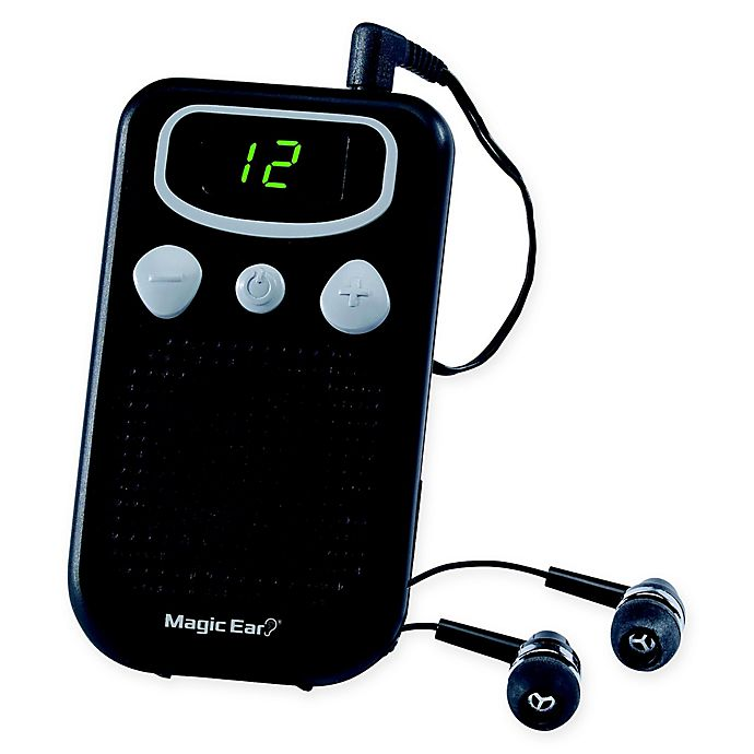 Alternate image 1 for Magic Ear Personal Sound Booster in Black