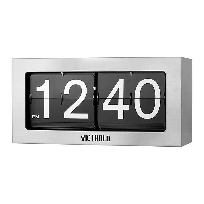 Alternate image 1 for Victrola Nostalgic Metal Flip Clock