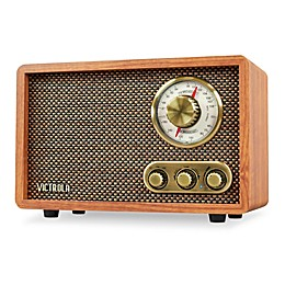 Victrola™ Wood Bluetooth FM/AM Radio