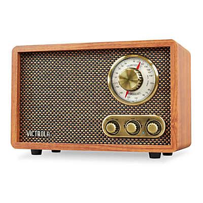 Victrola™ Wood Bluetooth FM/AM Radio