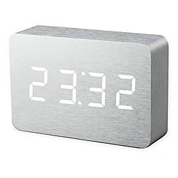 Gingko® Brick Click Alarm Clock