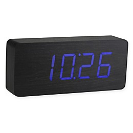 Gingko Slab Click Rechargeable Clock